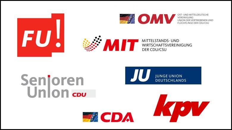Die Vereinigungen und Organisationen der CDU